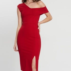 🤩HOST PICK🤩 MOSSMAN Red Cocktail Dress